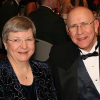 Linda and Robert Joseph